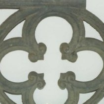 Image of 95.009.1.a,b - Decorative Wrought Iron Fragment