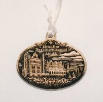 Image of 97.002.1-2 - Medal; Sesquisentennial of the Ursuline