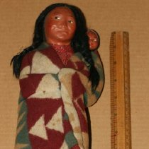 Image of 68.14.3 - Native American Doll