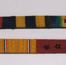Image of 98.022.2a,b - Campaign Ribbons, Usa