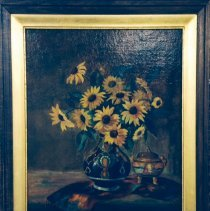 Image of 2002.06 - Stillife with Sunflowers