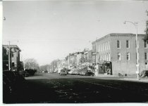 Image of State Street, Sycamore, Illinois looking west, 1940 - Photograph