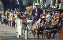 Image of Mayor Red Johnson, Pumpkinfest Parade - Photograph