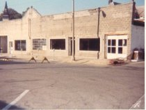 Image of Loptien Garage, south Maple Street, March 1981 - Photograph