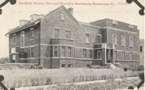Image of Old Jail and Sheriff's Residence, Sycamore, Illinois - Photograph
