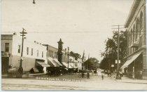 Image of Postcard - Somonauk Street 1910