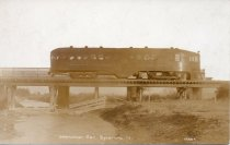 Image of Postcard - Interurban Car of the Woodstock & Sycamore Traction Co.