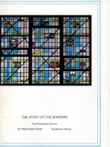 Image of Booklet - Descriptions of the Art Glass Windows of the Federated Church