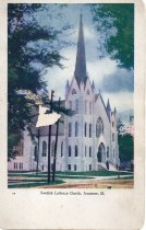 Image of Postcard - Swedish Lutheran Church