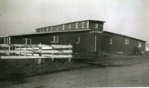 Image of Stock building on the original Engh Farm - Photograph