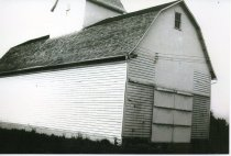 Image of Corn Crib on the original Engh Farm - Photograph