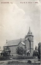 Image of Postcard - M. E. Church