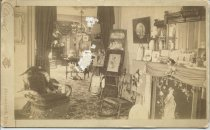 Image of Interior of E. F. Dutton home, parlor