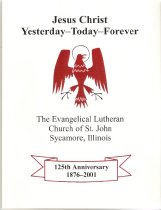 Image of Booklet - St. John Ev. Lutheran 125th Anniv. Booklet 2001