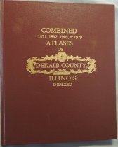 Image of Atlas - Combined 1871, 1892, 1905, 1929 Atlases of DeKalb County, Indexed