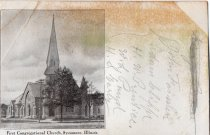 Image of Postcard - First Congregational Church