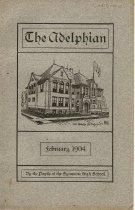 Image of Yearbook - The Adelphian, February 1904