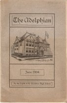 Image of Yearbook - The Adelphian, June 1904