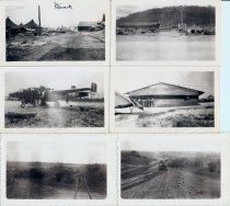 Image of Seventeen photographs taken on a WWII air force base - Photograph