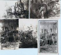 Image of Twenty Two photographs taken druing WWII - Photograph