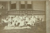 Image of Birthday party taken at the D.A. Syme home on Edward's Street - Photograph