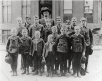 Image of Orphans who rode the Orphan Train and were placed in Missouri 1910 - Photograph