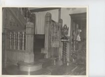 Image of Stairway in Dutton Home (1952) - Photograph