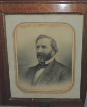 Image of James Waterman, A founder of National Bank and Trust Bank - Painting