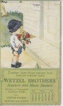 Image of Wetzel Bros. Calendar