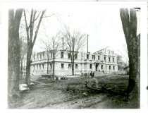 Image of DeKalb County Courthouse under construction