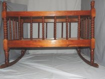 Image of Bed, Child's - Jenny Lind Bed
