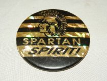 Image of Button, Promotional - Button, Sycamore, Illinois High School Sport