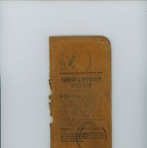 Image of April 1926-1927 Bank Ledger Book, Gilbertson Myhre Store