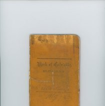 Image of Gilbertson-Myhre Co. Bank of Galesville Deposit Book