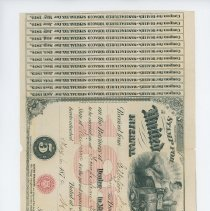 Image of U.S. Internal Revenue stamp for special tax on tobacco.