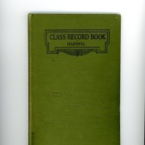 Image of Class Record Book