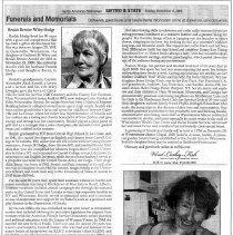 Image of Obituary, Beulah Bernice Wiley Hodge