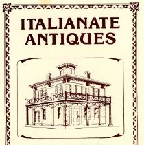 "Image of Advertising Brochure, ""Italianate Antiques"""