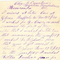 Image of Letter - Oley B. Canuteson (?) 1866-1873, received from Martha Critzman