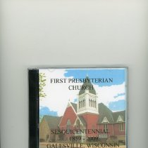 Image of DVD Sesquicentennial, 1st Presbyterian Church, Galesville, WI