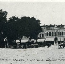 Image of City of Galesville Newspaper Clippings:  City Square
