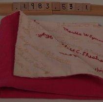 Image of W.1983.53.1 - Pillowcase