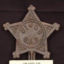 Image of W.1984.10.1d - Marker, Grave