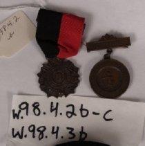 Image of W.1998.4.2b - Medal
