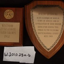 Image of Award plaque