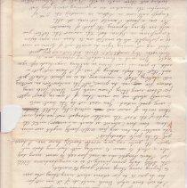 Image of Fletcher letter p. 2