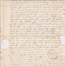 Image of Fletcher letter p. 3