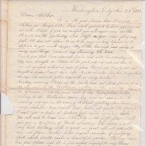 Image of Fletcher letter p. 1