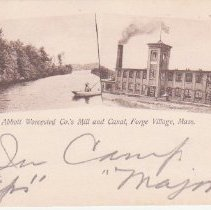 Image of Postcard of Abbott Mill