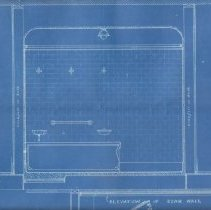 Image of Bathroom blueprint 3rd 1/4